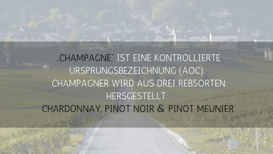 Champagner kontrollierte Ursprungsbezeichnung