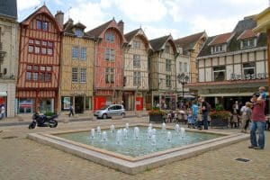 Troyes Zentrum