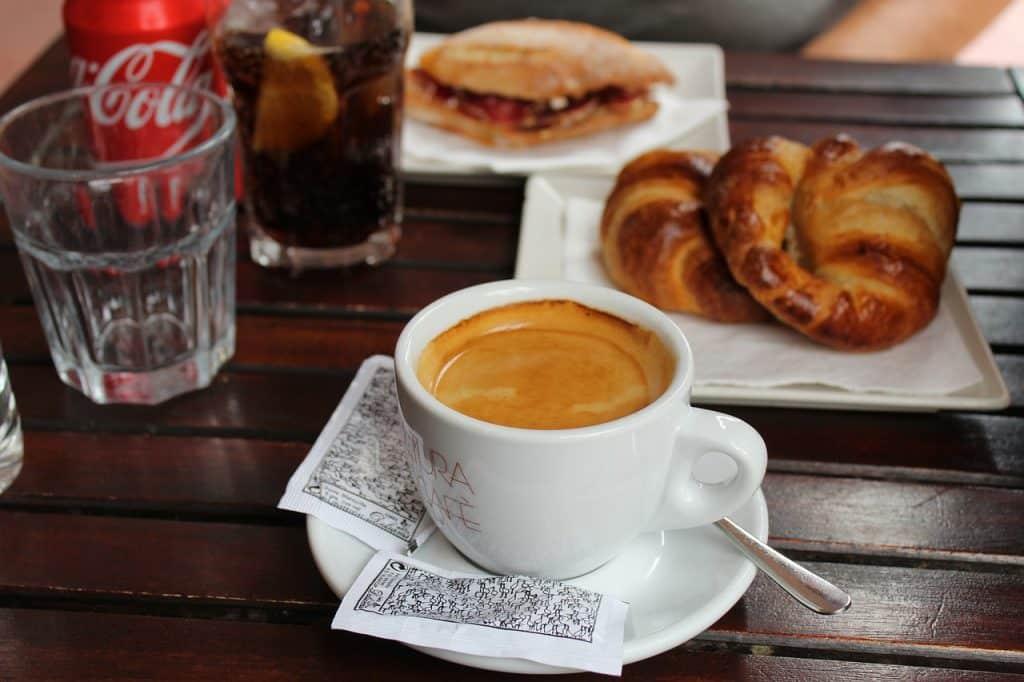 Verkaufen Frankreich - Coca Cola Frühstück