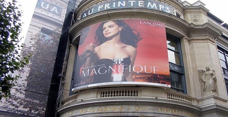 Werbeanzeige Frankreich
