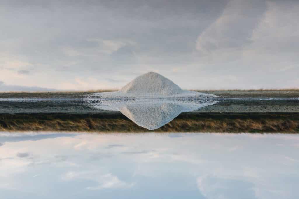 Île de Ré Salzproduktion