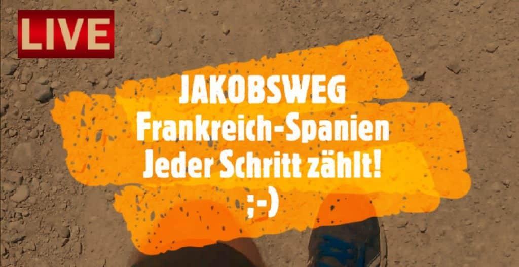 Kurzvideo: Der Jakobsweg und jeder Schritt zählt!