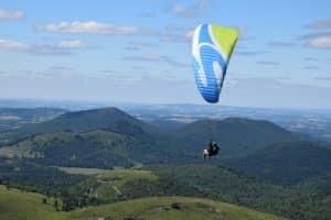Paragliding Auvergne Vulkane