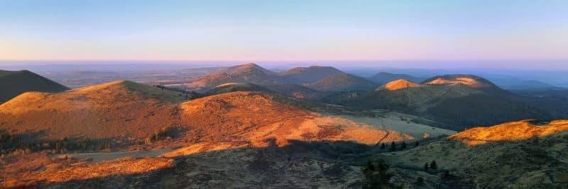 Auvergne Region Landschaft