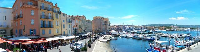 Saint Tropez im Süden Frankreichs