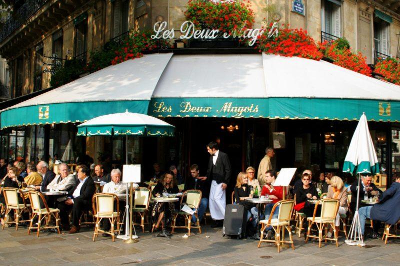 Café, Brasserie Paris, Frankreich