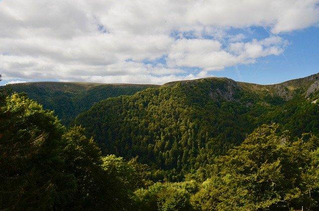 Berglandschaft Frankreich