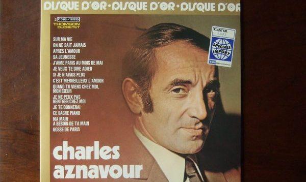Charles Aznavour – französischer Ausnahmekünstler und Poet