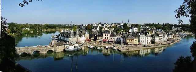 Bretagne Hafenstadt